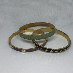 Set of 3 Lia Sophia Bracelets